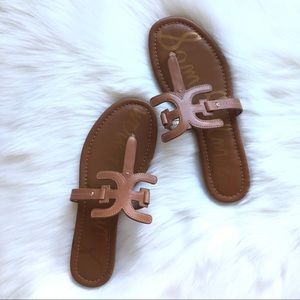 NWOT {Sam Edelman} Nude Brown Carter Sandal